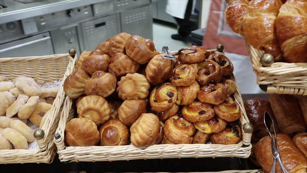 pastries Regular Breakfast Disneyland Hotel Paris
