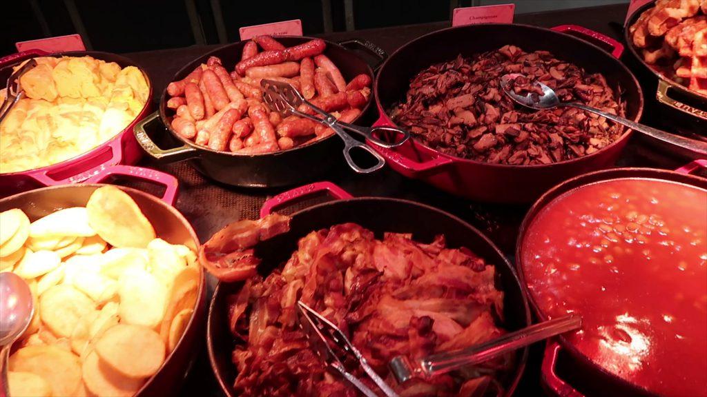 warm meat Regular Breakfast Disneyland Hotel Paris