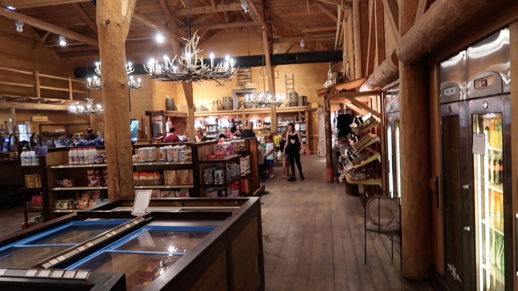 Alamo Trading Post Davy Crockett Ranch Disneyland Paris